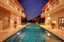 Villa With Pool On A Golf Course In Hua Hin, Thailand