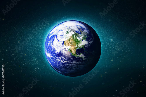 Wall Murals Nasa The Earth in the galaxy, Elements of this image furnished by NASA