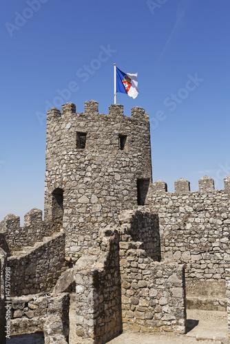 Moorish Castle Tower - Buy this stock photo and explore similar