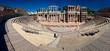 "'One man's theater"": Roman theater of Merida panorama"