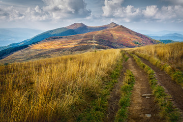 Bieszczady - mountains in Poland