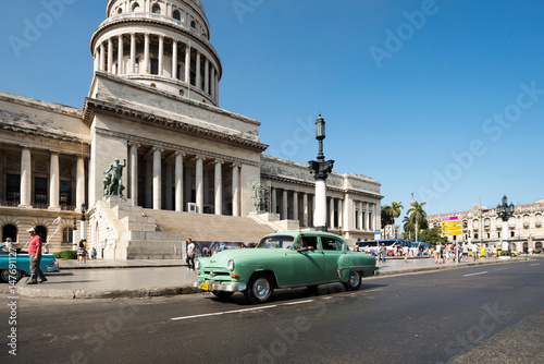 Reise, Havanna, Cuba Canvas Print