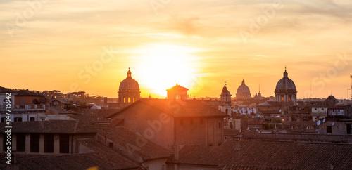 Fotobehang Rome, Italy - Aerial view