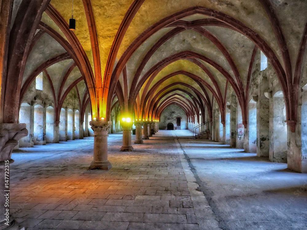 Fototapety, obrazy: Kloster Eberbach