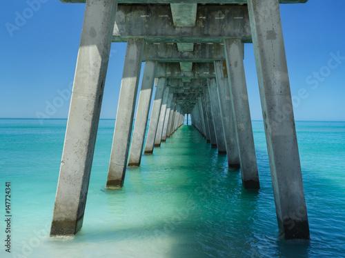 Pier and ocean
