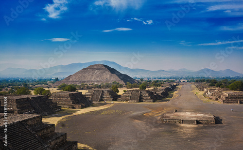 Tuinposter Mexico Teotihuacan pyramids in Mexico