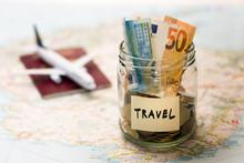 Travel Budget Concept, Money S...