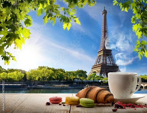 Poster Paris Breakfast in Paris