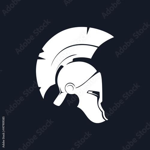 Antiques Greek Helmet, Silhouette Roman Helmet for Head
