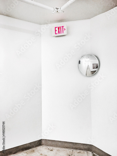 Exit Wall mural