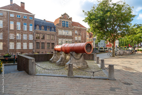 Photo  Big Cannon in Ghent