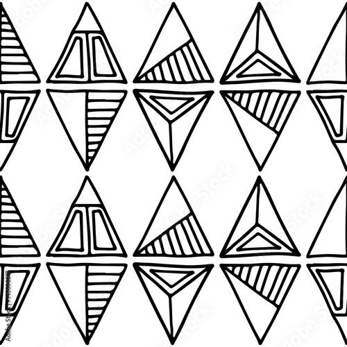 Seamless vector pattern Canvas Print