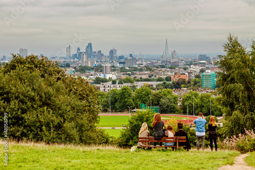 Photo sur Toile Europe Centrale London Highgate Hampstead Park