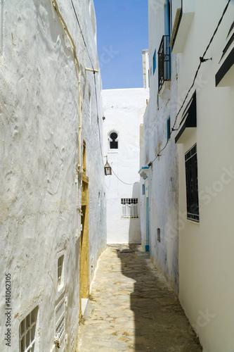 Staande foto Tunesië In den Gassen der Medina von Hammamet in Tunesien