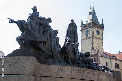 Photo  Memoriale di Jan Hus a Praga