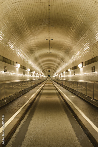 St- Pauli Elbe tunnel, Hamburg, Germany