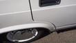 White Sport Car Wheel.silver wheels