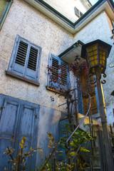 Fototapeta na wymiar Old house entrance