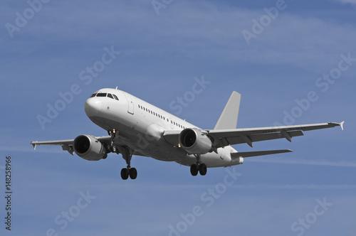 Foto op Aluminium Vliegtuig Passenger Jet