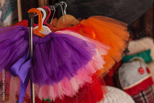 Fotografie, Obraz  Stand for Children skirts Tutu.