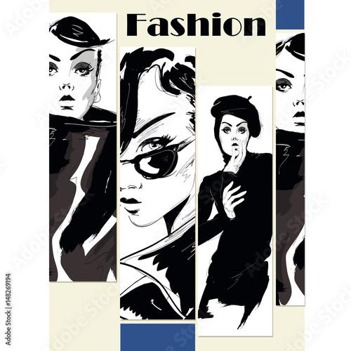 moda-dziewczyna-w-stylu-szkicu