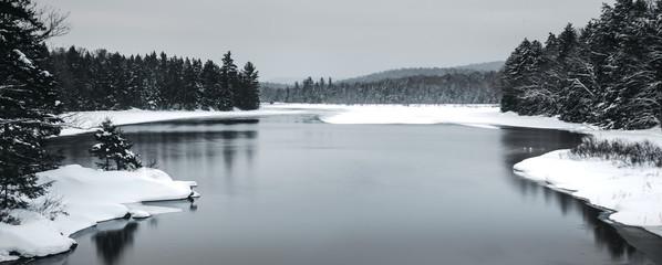 Obraz na Plexi Czarno-Biały Calm lake