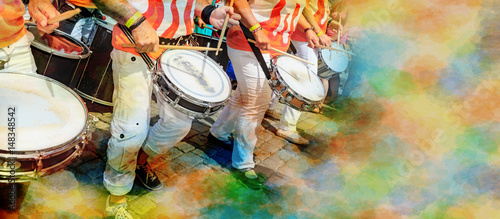 In de dag Rio de Janeiro Scenes of Samba festival