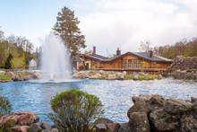Ornamental Gardens With Lake A...