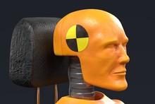 Realistic 3d Render Of Crash T...