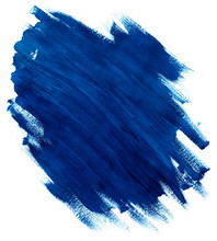 Abstract Blue Acrylic Gouache ...