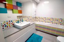 Interior Of Modern Colourful B...