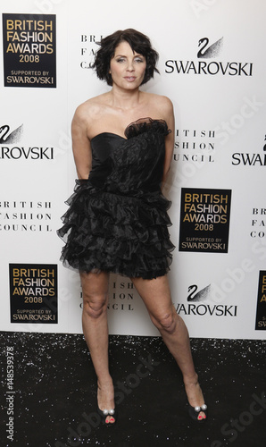 b2b5a5618 Fashion designer Sadie Frost arrives at the British Fashion Awards in London