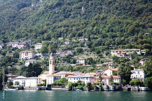 Laglio at Lake Como, Lombardy Italy Wallpaper Mural