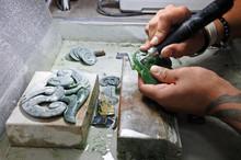 Hands Of A Jade Ornamental Gre...