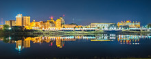 Monroe Louisiana City Skyline ...