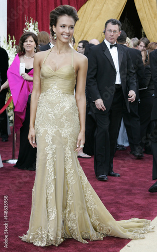 Actor Alba Arrives At The 78th Annual Academy Awards In Hollywood