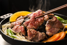 ジンギスカン  Japanese Style Mongolian Mutton Barbecue