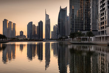 Refelctions Of Jumeirah Lakes ...