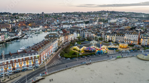Canvastavla Weymouth Bay, Harbour. Dorset