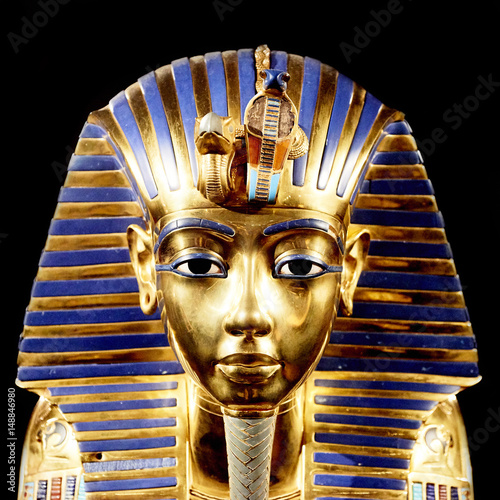 Fotografia Replica of funerary mask of Tutankhamun