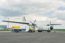 Transall C-160 Bei Tankung
