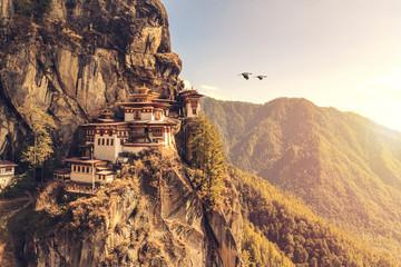 Tiger's nest Temple or Taktsang Palphug Monastery (Bhutan)
