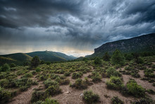 Stormy Skies In Great Basin National Park