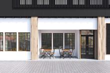 White Cafe Exterior