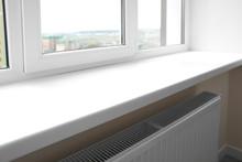 Modern Window Sill Close Up