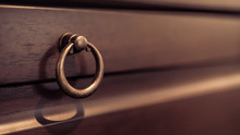 Hand Metal Handle Drawer Pull