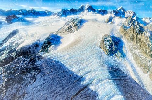 Fotografía On Top of the World on Fox Glacier