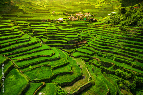 Batad Rice Terraces in Northern Luzon, Philippines.