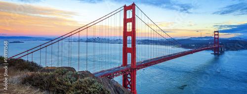 Poster Bridges Famous Golden Gate Bridge, San Francisco