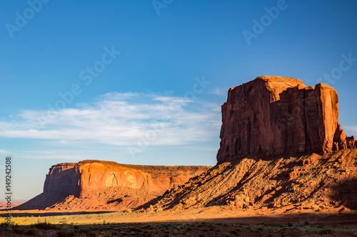 Keuken foto achterwand Afrika Landscape in Monument Valley.